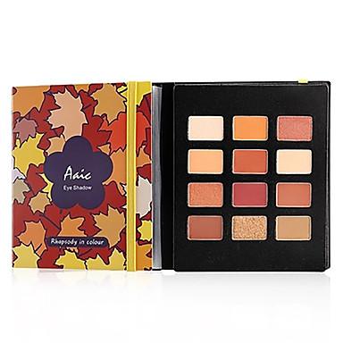 Make-up For You 12 צבעים צלליות צללית נשים / נוער מחזיק לאורך זמן טבעי מתנת Girlfriend איפור יום / איפור למסיבה קוֹסמֵטִי