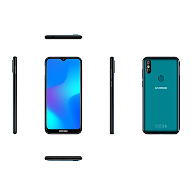 "preiswerte Telefone & Zubehör-DOOGEE Y8 6.1 Zoll "" 4G Smartphone (3GB + 32GB 5 mp / 8 mp MediaTek MT6739 3400 mAh mAh) / Zwei kameras"