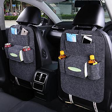billige Interiørtilbehør til bilen-multifunksjonell bil baksetet oppbevaringspose rygglommer lommebok beskyttelsesorganiser automatisk tilbehør