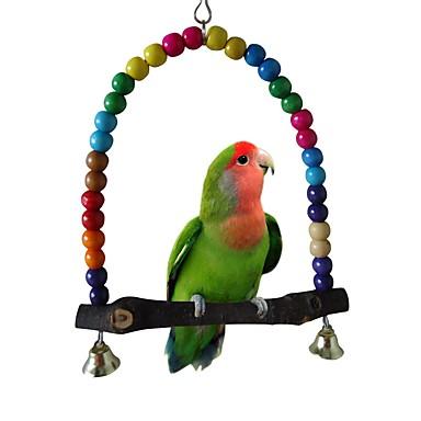 ציפור מוטות וסולמות ידידותי לחיות מחמד ציפור עץ 30 cm