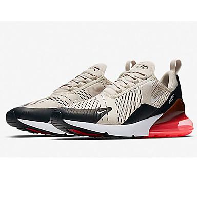 בגדי ריקוד גברים נעלי נוחות מיקרופייבר אביב קיץ ספורטיבי נעלי אתלטיקה ריצה שחור / אפור בהיר