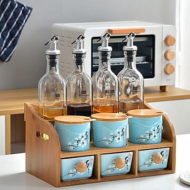 preiswerte Netze & Halter-Gute Qualität mit Keramik Schrankzubehör Für Kochutensilien Küche Lager 3 pcs