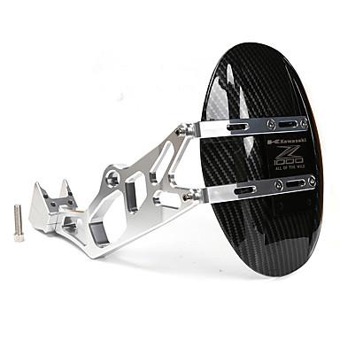 billige Motorsykkel & ATV tilbehør-for kawasaki z1000 z1000sx 2010 - 2017 svart aluminium motorsykkel bakre fender