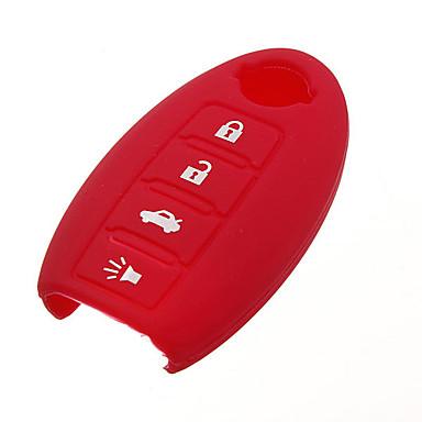 levne Doplňky do interiéru-Automobilový průmysl Řetěz automobilového klíče Klíčenky Módní Silikon Pro Nissan 2005 / 2006 / 2007 Versa / Sentra / Rogue Půvab