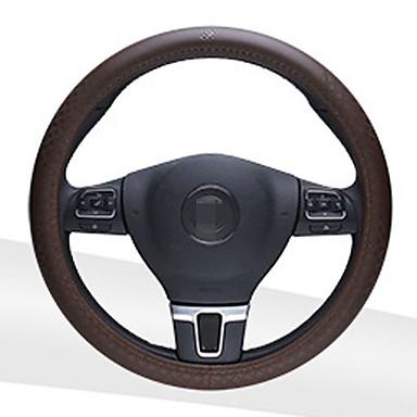 גלגל ההגה מכסה נגד להחליק נוח המכונית אביזרים להתאים קוטר 36cm
