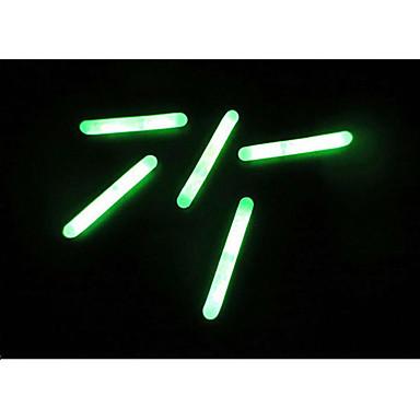 10st fiske natt fluorescerande ljus flyta glöd stick ljusstav 4,5 * 39mm fiske verktyg av hög kvalitet