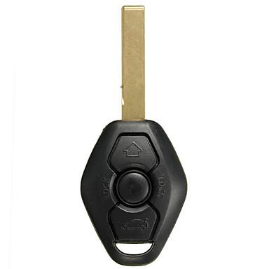 billige Interiørtilbehør til bilen-oppføring ekstern nøkkel fob sender klikker m / uklippet blad 315 mhz for bmw e46