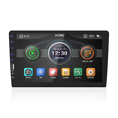 cheap Car DVD Players-chelong 9008 9 inch 1 DIN Windows CE 6.0 Car MP5 Player Built-in Bluetooth / Steering Wheel Control / Remote Control / RC for universal MicroUSB Support MPEG / AVI / DAT MP3 / WAV / OGG JPG / Radio