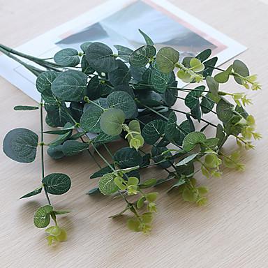 פרחים מלאכותיים 1 ענף קלאסי מודרני עכשווי פסטורלי סגנון צמחים פרחים לשולחן