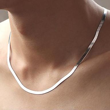 povoljno Modne ogrlice-Muškarci Lančići Klasičan Jednostavan Klasik Moda Kamen Glina Pink 51,56 cm Ogrlice Jewelry 1pc Za Dnevno Rad