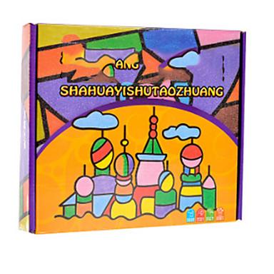 voordelige tekening Speeltjes-Tekenspeelgoed Deursticker geometrisch patroon Handgemaakt Kinderen Baby Allemaal Speeltjes Geschenk 40 pcs