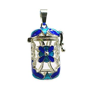 levne Dámské šperky-Dámské Přívěšky Medailónek Brož Šperky Modrá Pro Denní