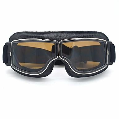 povoljno Motori i quadovi-Muškarci Motociklističke naočale Retro Vjetronepropusnost / Zaštitna maska Umjetna koža / Polyurethane Leather