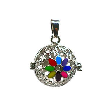 levne Dámské šperky-Dámské Přívěšky Medailónek Brož Šperky Duhová Pro Denní Street