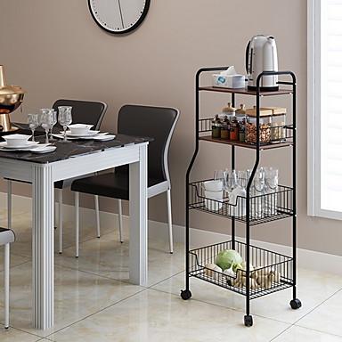 preiswerte Netze & Halter-Gute Qualität mit Eisen Schrankzubehör Für Kochutensilien Küche Lager 1 pcs