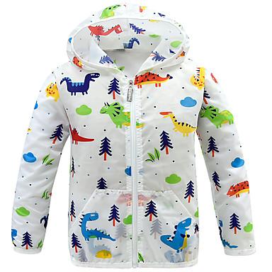 povoljno Odjeća za dječake-Djeca Dječaci Aktivan Dinosaur Print Print Normalne dužine Baloner Obala