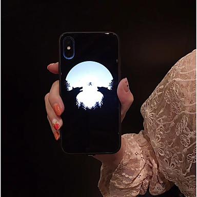 povoljno iPhone maske-kutija za Apple iphone xs max / iphone x prsten držač leđa poklopac mramor / boja gradijent tvrdi akril za iphone 6 / iphone 6 plus / iphone 6s / 6splus / 7/8/7 plus / 8 plus / x / xs / xr / xs max