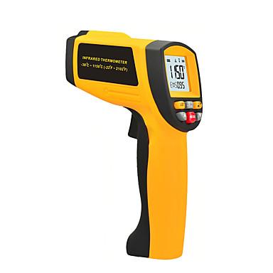 levne Testovací, měřící a kontrolní vybavení-LITBest GM1150 Přenosná / Profesionální infračervené teploměry Automatické vypínání, Podsvícení displeje LCD, Převod jednotky