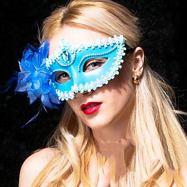 levne Masky-Halloweenské masky Sexy krajková maska Krajka Párty Krajka Jídlo a nápoje Dospělé Unisex