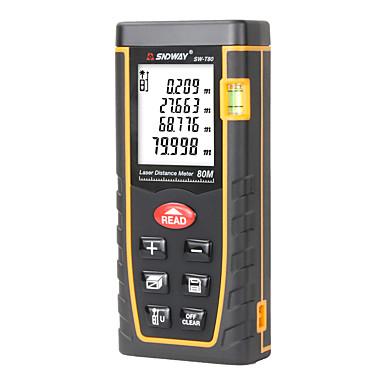 levne Testovací, měřící a kontrolní vybavení-dálkoměr t80 laserový dálkoměr dálkoměr 80m 262ft trenažér laserové měřiče hladiny vodního kamene měřící zařízení pro měření tloušťky nástroje tester nástroje.