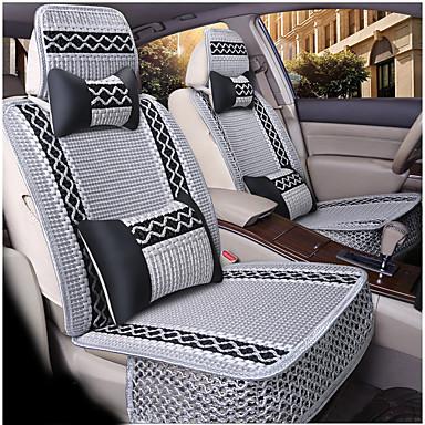 voordelige Auto-interieur accessoires-Auto-stoelhoezen Hoofdsteun en taille kussensets Beige / Grijs / Koffie Ander leertype Sport Voor Universeel