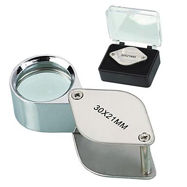 levne Mikroskopy a endoskopy-30X 30x21mm Drop Shape skládací klenotnictví Eye lupa Lupa zvětšovací sklo Mikroskop