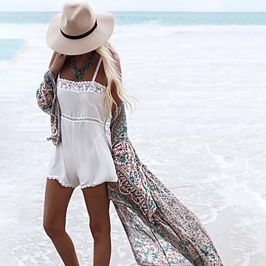 בגדי ריקוד נשים בגד ים מכסים בגדי ים הגנה מפני השמש UV ייבוש מהיר שרוול ארוך שחייה גלישה ספורט מים טלאים סתיו אביב קיץ