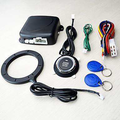 levne Auto Elektronika-12v univerzální imobilizér inteligentní klíč rfid auto alarm tlačítko start keyless transpondér