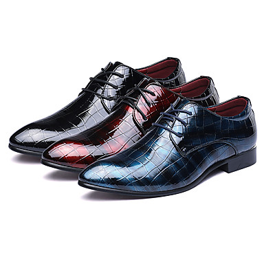 abordables Oxfords Homme-Homme Chaussures habillées Bullock Chaussures Chaussures derby Printemps / Automne Business / Classique / Britanique Mariage Soirée & Evénement Bureau et carrière Oxfords Marche Cuir Preuve de l'usure