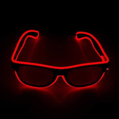 brlong מוארת הוביל משקפיים רומן משקפיים זוהר מתכוונן אל קו ניאון משקפיים חג קישוט