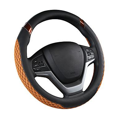 billige Interiørtilbehør til bilen-bil ratt deksel karbonfiber fasjonable nydelig menn og kvinner fire årstider gm bil / svart / lilla / rød / beige / grå / ratt dekker