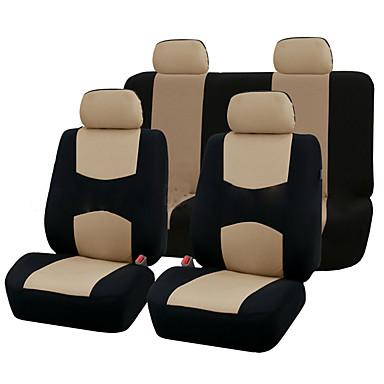 voordelige Auto-interieur accessoires-9 stks autostoel covers set voor 5 seat auto universele toepassing 4 seizoenen beschikbaar
