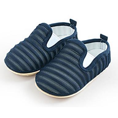 voordelige Babyschoenentjes-Meisjes Comfortabel / Eerste schoentjes Elastische stof Loafers & Slip-Ons Zuigelingen (0-9m) Geel / Licht Grijs / Licht Roze Lente