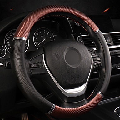 cheap Steering Wheel Covers-Universal Car Steering Wheel Cover Artificial Leather Comfortable Non-slip Automobile Steering-Wheel Cover