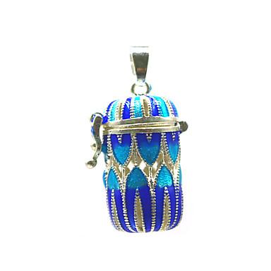 levne Dámské šperky-Dámské Přívěšky Medailónek Brož Šperky Modrá Pro Denní Street