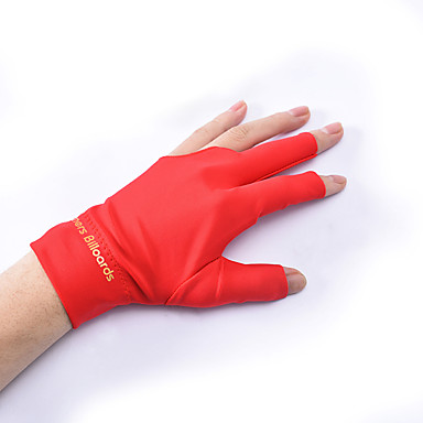cheap Billiards & Pool-Billiards & Pool Gloves Men and Women Anti-Slip / Wearable / Sweat-wicking Indoor Cotton