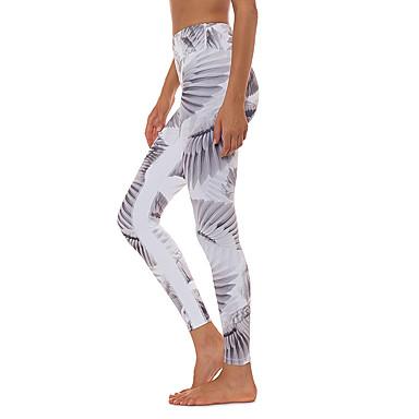 בגדי ריקוד נשים מכנסי יוגה חזיית ספורט צבע אחיד כושר אמון תחתיות לבוש אקטיבי רך מיקרו-אלסטי רזה