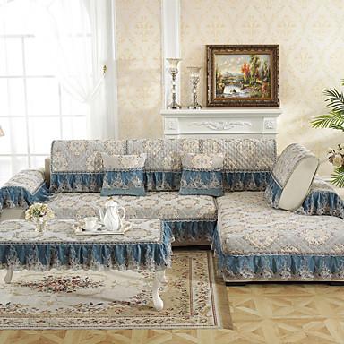 כרית הספה עכשווי רקמה תערובת כותנה\פוליאסטר כיסויים