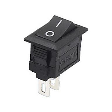 preiswerte Autoteile-5 teile / satz 2 pin snap-in ein / aus position snap boot taste schalter 12 v / 110 v / 250 v t1405 p0.5