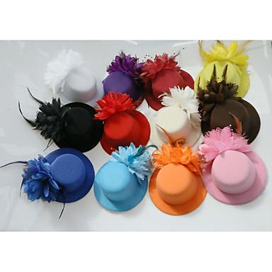 povoljno Party pokrivala za glavu-Til / Perje Fascinators s 1 Vjenčanje / Special Occasion / Čajanka Glava