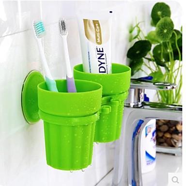 כוס למברשות שיניים יצירתי מודרני עכשווי עמ' כלים מברשת שיניים ואביזרים