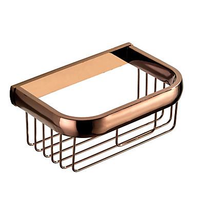 סבונים& מחזיקי / מדף האמבטיה / מחזיק נייר טואלט עיצוב חדש מודרני / עכשווי פליז 1PC - אמבטיה / מלון אמבטיה הקיר רכוב