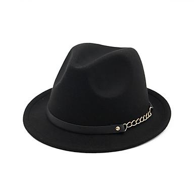 - כובעים / אביזר לשיער עם כובע חלק 1 לבוש יומיומי / בָּחוּץ כיסוי ראש