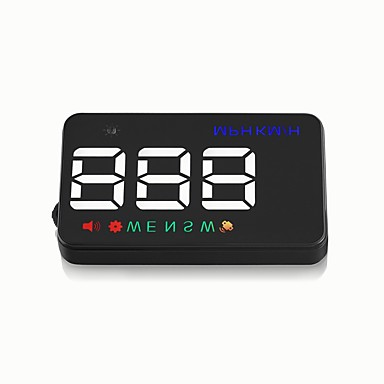 [$22 99] A5 GPS HUD Digital Universal HD Projection Display Car Truck  Speedometer Speed Warning