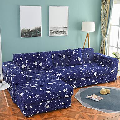 ספה לכסות מתיחה גבוהה כוכבים קומבינטורית רכה פוליאסטר slipcovers
