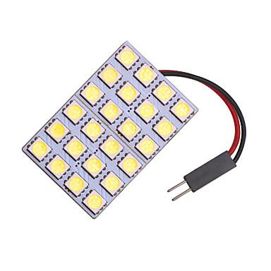 חדר מנורת LED הוביל קריאה מנורה 24smd המכונית פנים מנורה הוביל 5050 תיקון מנורה