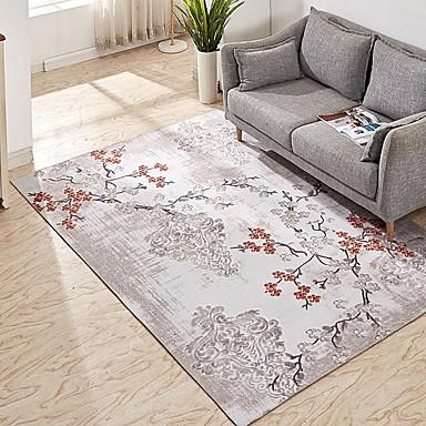 preiswerte Teppiche-Vorleger Modern Polyester, Rechteckig Gehobene Qualität Teppich