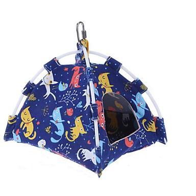 ציפור מוטות וסולמות ידידותי לחיות מחמד פוקוס צעצוע הרגשתי / צעצועים בד ציפור בד אוקספורד 22 cm