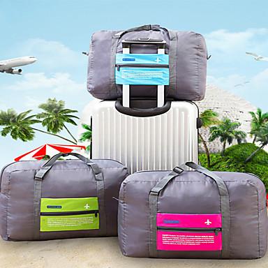 תיק ים רוכסן עמיד למים / חוץ / אחסון לטיולים נייד / מתקפל / מזוודה פּוֹלִיאֶסטֶר לטייל