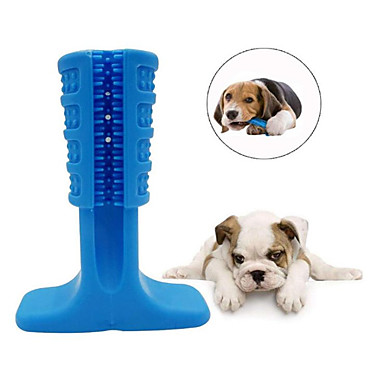 cheap Dog Toys-Chew Toy Toothbrushes Rodents Dog Cat Pet Toy 1pc Pet Friendly Portable Rubber silicon Gift